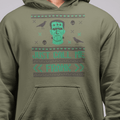 Just call me Frank Halloween UNISEX PULLOVER HOODIE