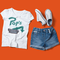 Riverdale's Pop's Chock'lit Shoppe Pop-up WOMEN'S TSHIRT
