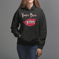 The Vampire Diaries Bite UNISEX PULLOVER HOODIE