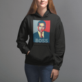 World's best BOSS UNISEX PULLOVER HOODIE - Michael Scott - The Office