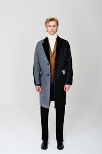 Paneled Car Coat