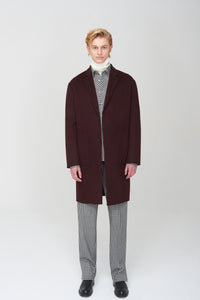 Men In Silhouette Handmade Coat