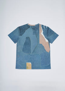 Men In Silhouette Allover Graphic Print Tee