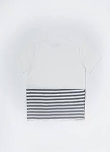 Men In Silhouette Cotton Contrast Tee