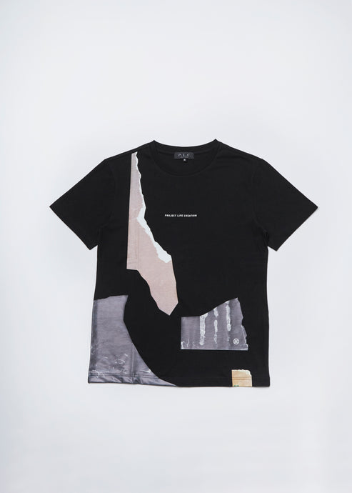 Men In Silhouette Graphic Print Tee