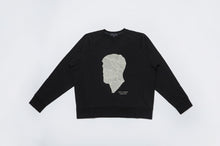 Load image into Gallery viewer, Men In Silhouette Oversized Cotton Sweatshirt