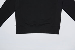 Men In Silhouette Logo Crewneck Sweatshirt Without Print