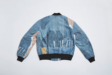 Load image into Gallery viewer, Men In Silhouette MA-1 Bomber Print Jacket