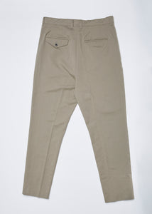 Men In Silhouette Cotton-Blend Baggy Pants