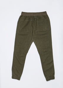 Men In Silhouette Jersey Jogger Pants