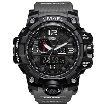 Smael Watch Men's Black
