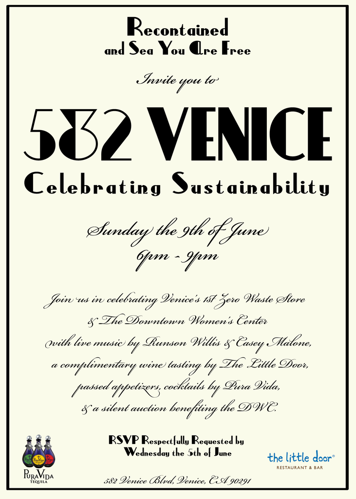 582 Venice // Celebrating Sustainability // 6.9.19 Event Gallery