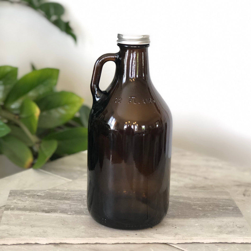THE GROWLER // AMBER GLASS