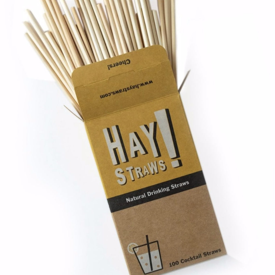 HAY! STRAWS // COCKTAIL STRAWS