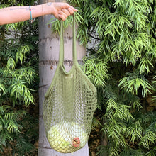 Load image into Gallery viewer, MAGICAL MESH TOTE // LONG HANDLE