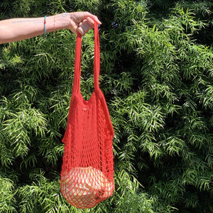 MAGICAL MESH TOTE // LONG HANDLE