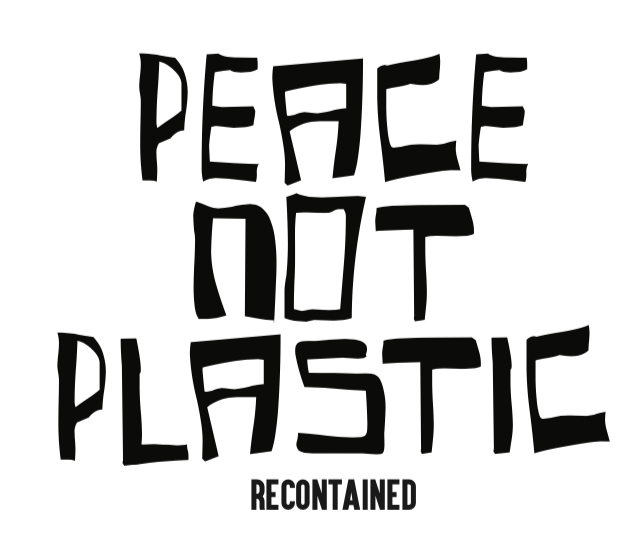 GIFT CARD // PEACE NOT PLASTIC