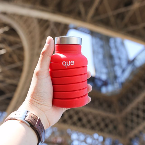 QUE // COLLAPSIBLE BOTTLES