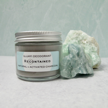 Load image into Gallery viewer, UJJAYI DEODORANT // NATURAL + ACTIVATED CHARCOAL