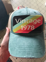 Custom Hats with patches