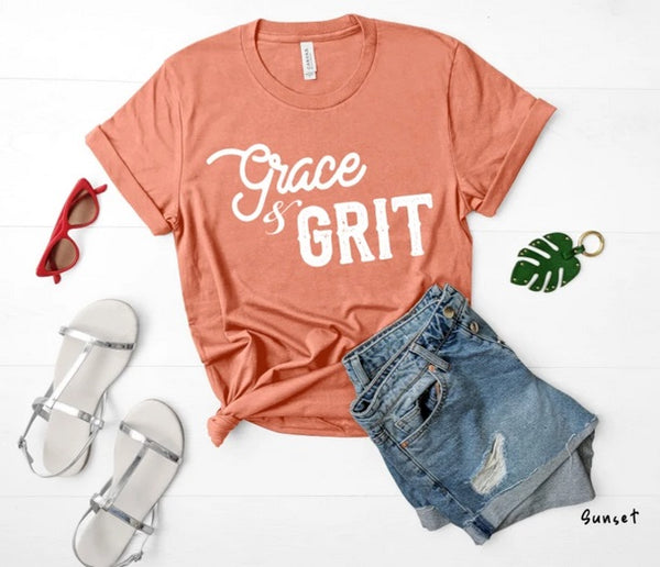 Grace and Grit (white)