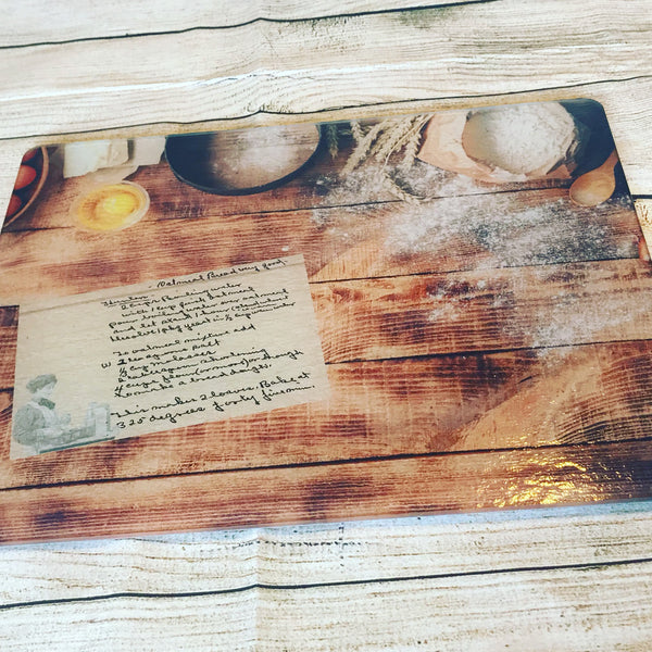 Custom Cutting Board approximately 12x15 or 8x11.5