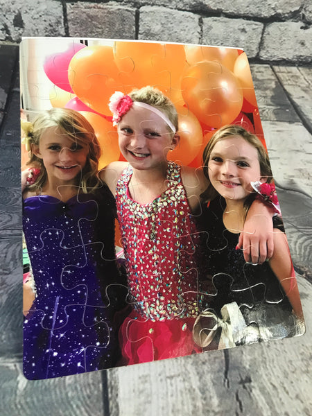 Custom Photo Puzzles Large and Small