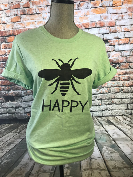 Bee Happy - Mint