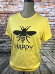 Bee Happy -Yellow
