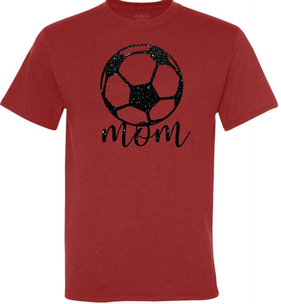Page High School Soccer GLITTER Mom Shirt!