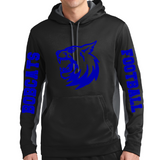Bobcat Adult Hoodie Blue or Silver