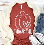 Thankful pumpkin (White)