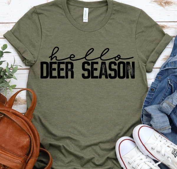 Hello Deer Season