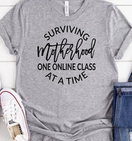 Surviving Motherhood one online class at a time