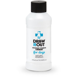 Draw It Out Veterinary Strength Liniment for Dogs - Topical Analgesic Gel and Pain Relief Spray - Dog Cream for Joint and Muscle Pain - Veterinarian Approved - 16 Ounces