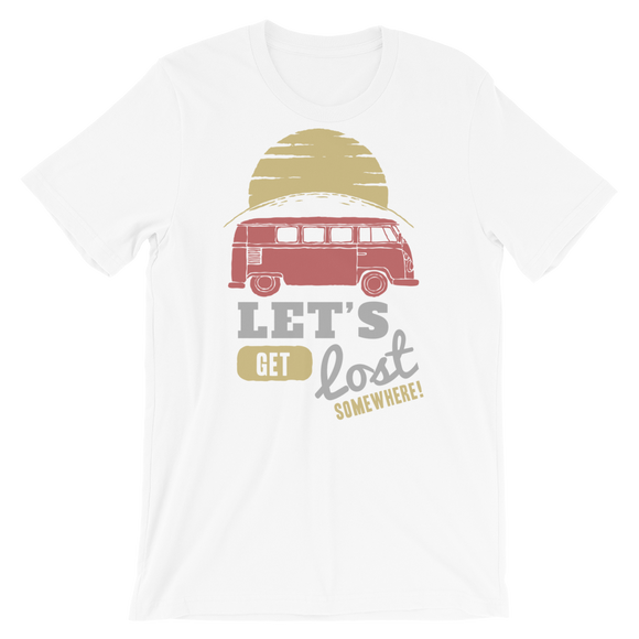 Lets Get Lost Short-Sleeve Unisex T-Shirt