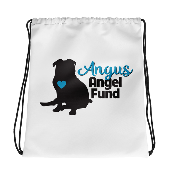 Angus Angel Drawstring bag