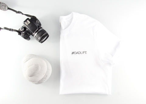 #DADLIFE Embroidered Canvas + Bella Short Sleeve Jersey Tee - Twofifty5