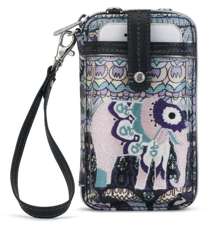 Bag | Smartphone Crossbody Purse | Violet One World