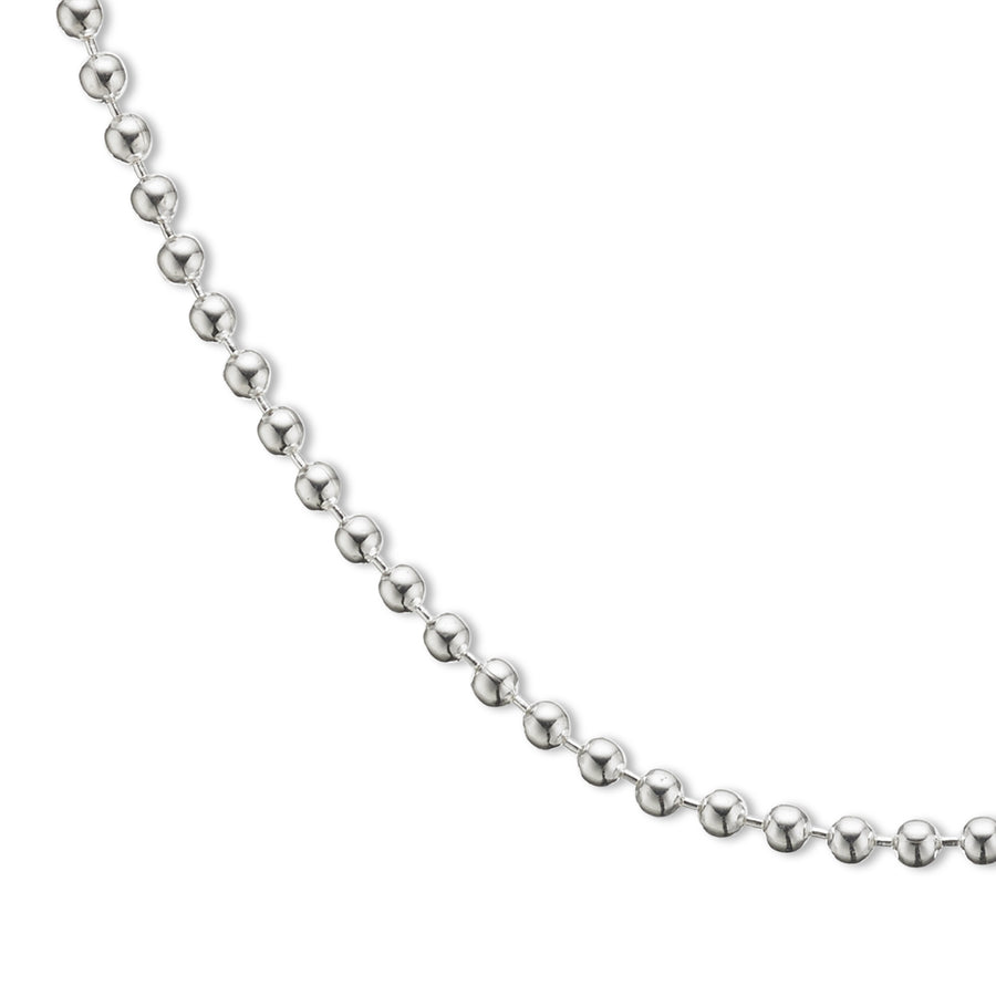 Necklace | Silver Ball Chain 50cm