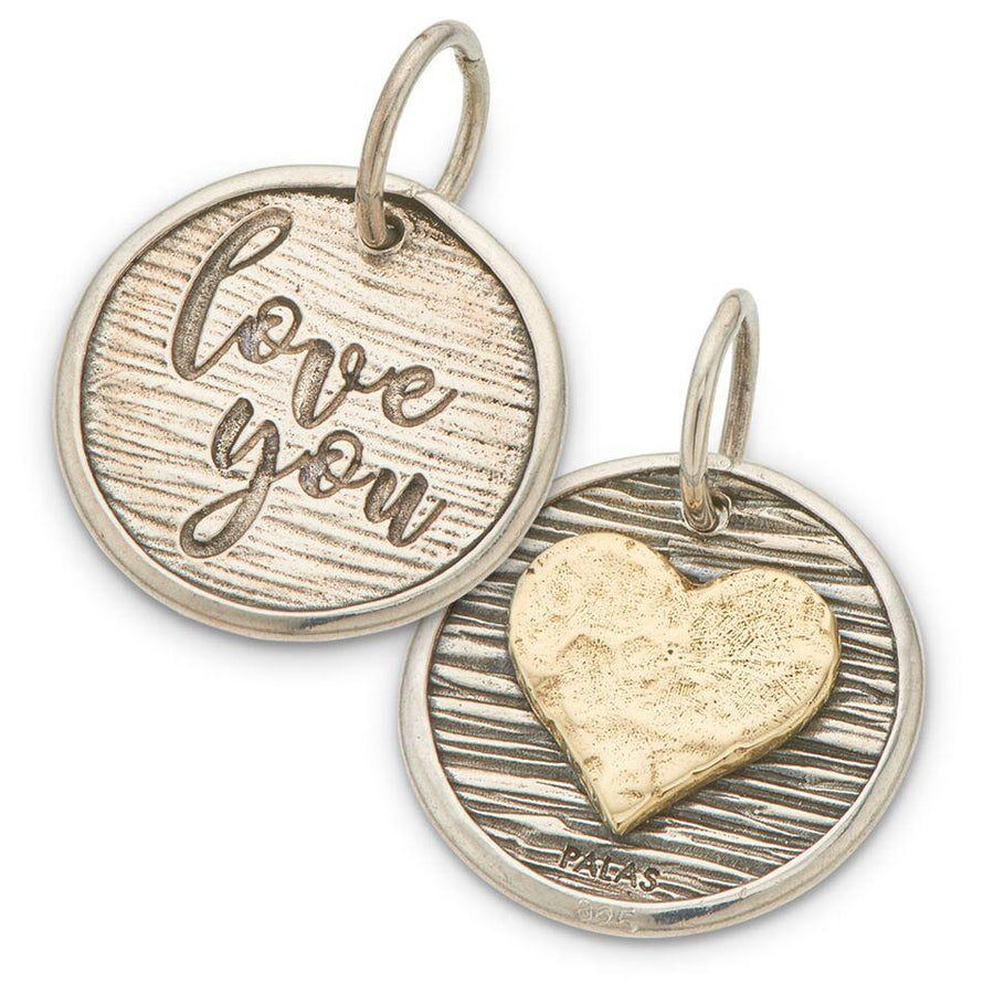 Palas | Charms | Heart and I Love You