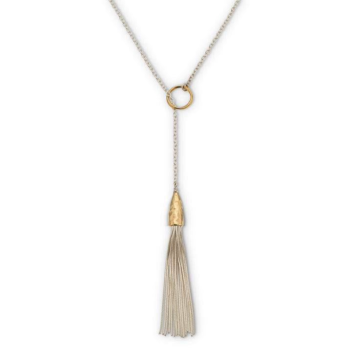 Necklace | Greek Islands Collection | Mykonos Tassel Lariat