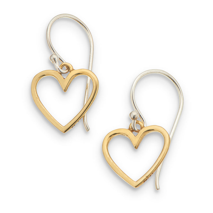Palas | Earrings | Petite Heart