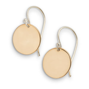 Palas | Earrings | Petite Disc