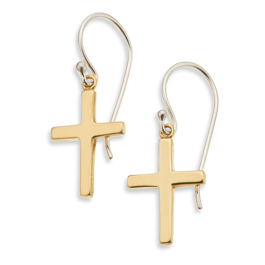 Palas | Earrings | Petite Cross