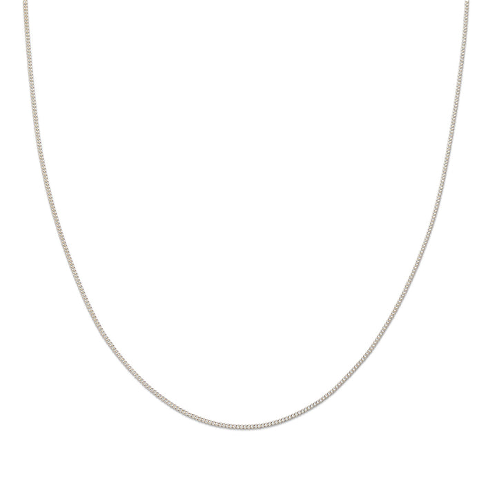 Necklace | Silver Fine Link Chain 45cm