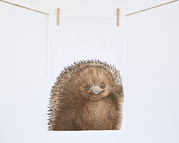 For Me By Dee | Tea Towel | Eddie the Echidna