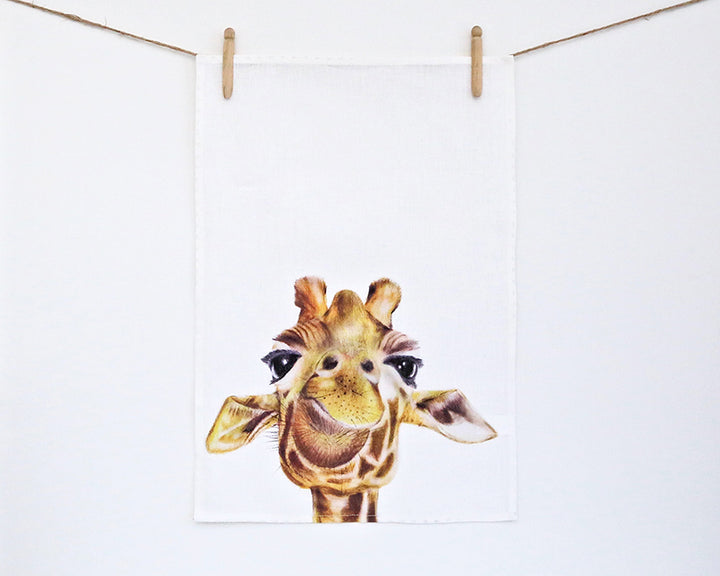 For Me By Dee | Tea Towel | Toby the Giraffe