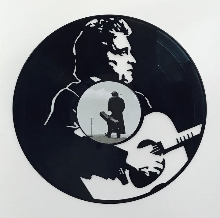 Emmy Lou Who | Vinyl Art | Johnny Cash