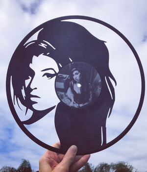 Emmy Lou Who | Vinyl Art | Amy Winehouse